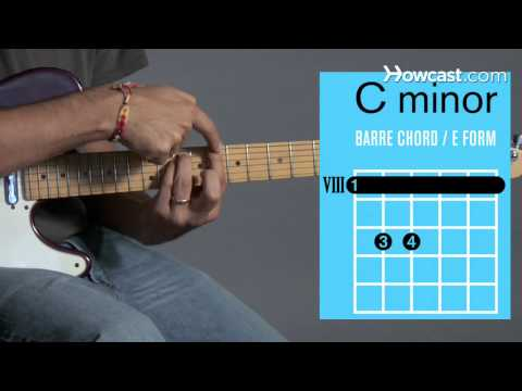 How to Play a C Minor Barre Chord | Guitar Lessons