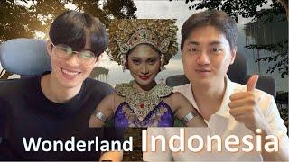 Orang Korea Reaction Wonderland Indonesia By Alffy Rev Ft Novia Bachmid