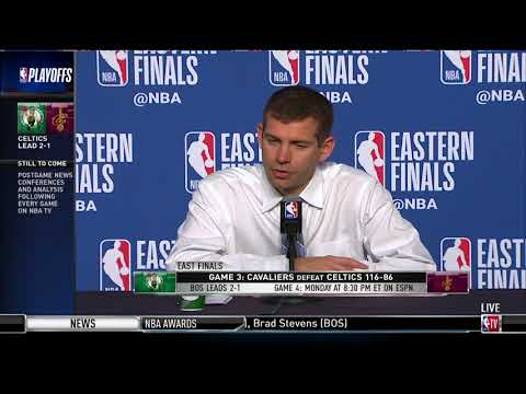 Coach Brad Stevens | Eastern Conference Finals Game 3 Press Conference