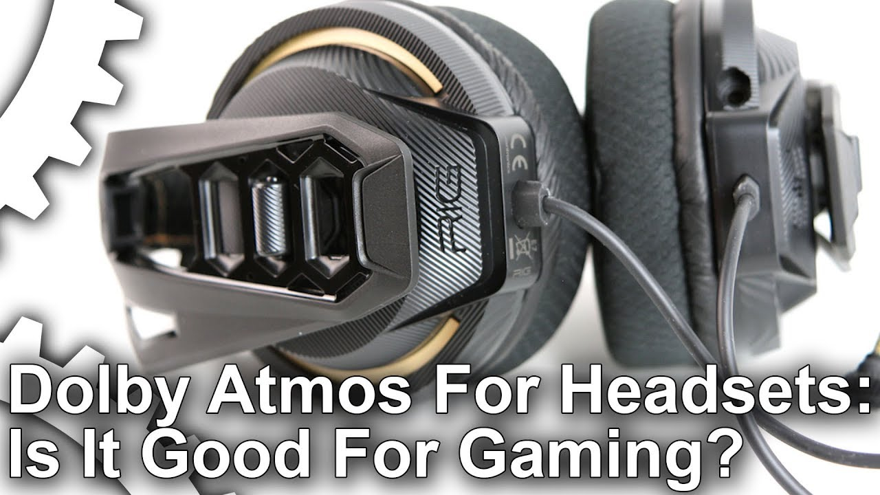 Dolby Atmos for Headphones Tested on Plantronics Rig 400