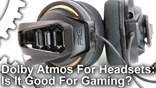 Dolby Atmos for Headphones Tested on Plantronics Rig 400!