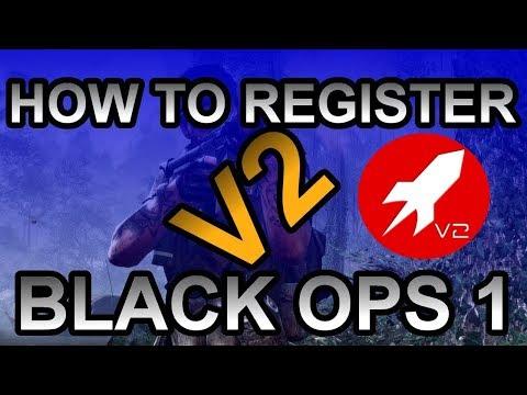 How to register on V2 Rockets Black Ops 1 website 20 sec. 2017