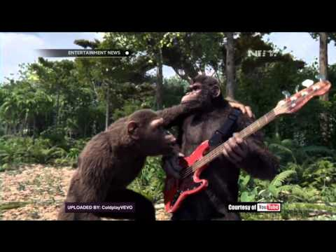 Coldplay Merilis Video Klip Terbaru 'Birds'