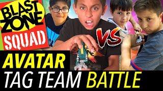 Beyblade Burst Battle! Epic Beyblade Avatar Battle Set Tag Team Tournament and Hasbro Unboxing!