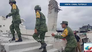 Derrumbe en construcción de Cumbres el Sol Monterrey deja 3 muertos