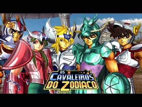Cavaleiros do Zodíaco - Saga do Santuário PS2 - O jogo definitivo para os fãs Brasileiros
