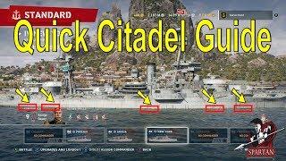 World of Warships Legends Citadel Guide