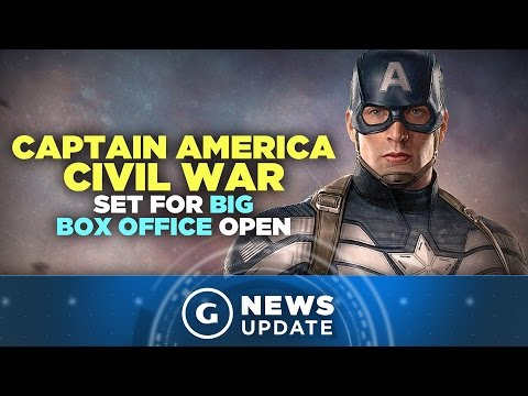 Captain America: Civil War Set for Massive Box Office Opening - GS News Update