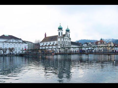 Luzern switzerland Lucerne Suisse  HD Travel Reportage