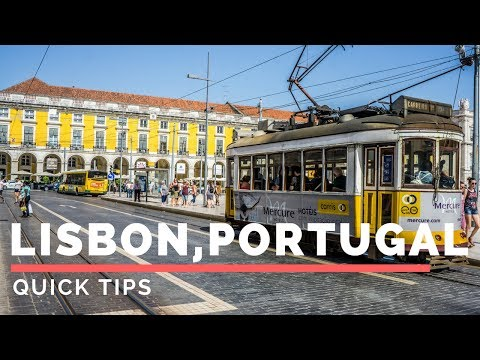 Tips for Lisbon, Portugal