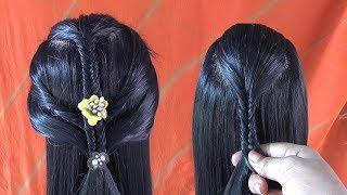 Hair Style Girl For Long Hair | Wedding Simple Fashion Designs