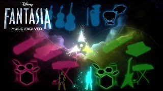 Disney Fantasia: Music Evolved - Overworld and Multiplayer Preview
