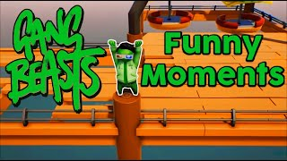 Gang Beasts PS4 Funny Moments #1