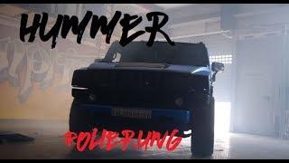 Hummer H2 Wrapping !!! FLEXCHROM PANZER ! Kompressor !!!(Nur auf PC!!)