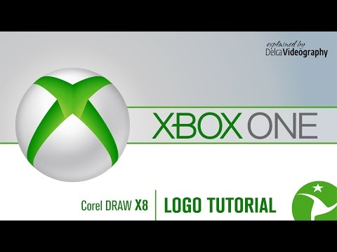 (INTERMEDIO) LOGO XBOX ONE TUTORIAL: COREL DRAW X8
