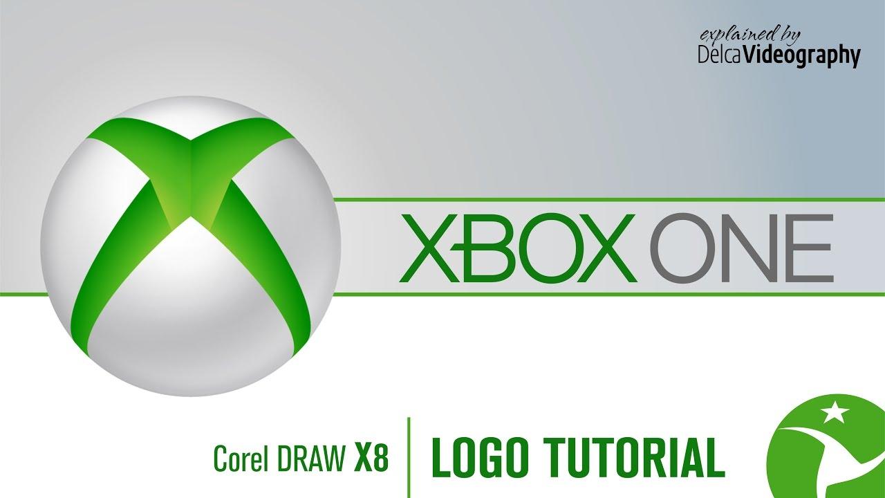Draw A Xbox One Logo In Coreldraw X8