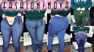 In Chunky jeans bbw