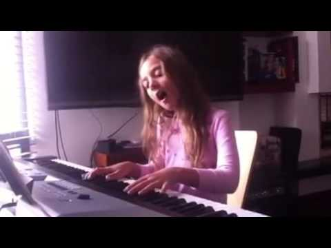 la famille b lier je vole louane piano cover youtube. Black Bedroom Furniture Sets. Home Design Ideas