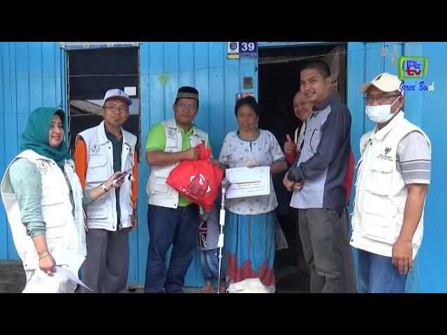 Blusukan, UPZ PKT Bantu Biaya Pengobatan 8 Warga Bontang