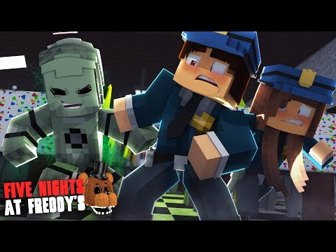 Minecraft: FIVE NIGHTS AT FREDDY'S #141 - ALIENÍGENA ANIMATRONIC ESTÁ ATRÁS DE NÓS !!