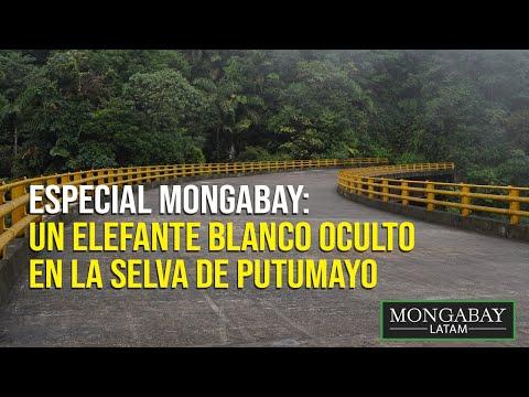 Colombia: un elefante blanco oculto en la selva de Putumayo