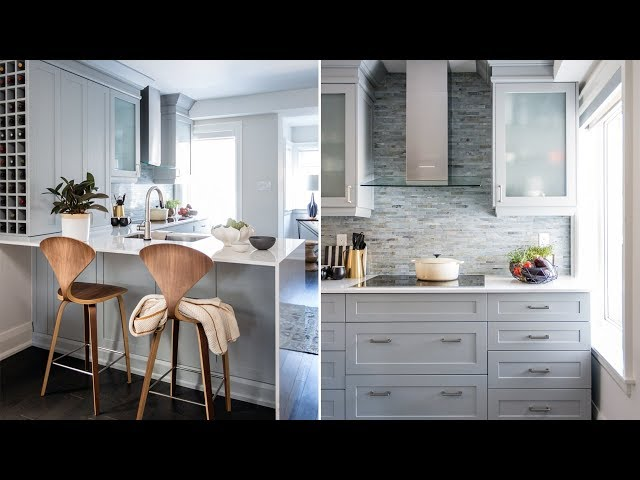 Elegant Interior Design: How To Make A Small Kitchen Feel Grand