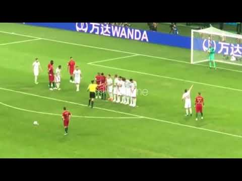How Ronaldos insane freekick felt from the stands.| FAN VIEW
