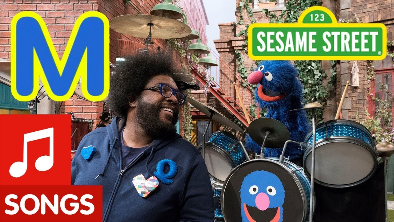 Sesame Street: M is for Musician with Questlove