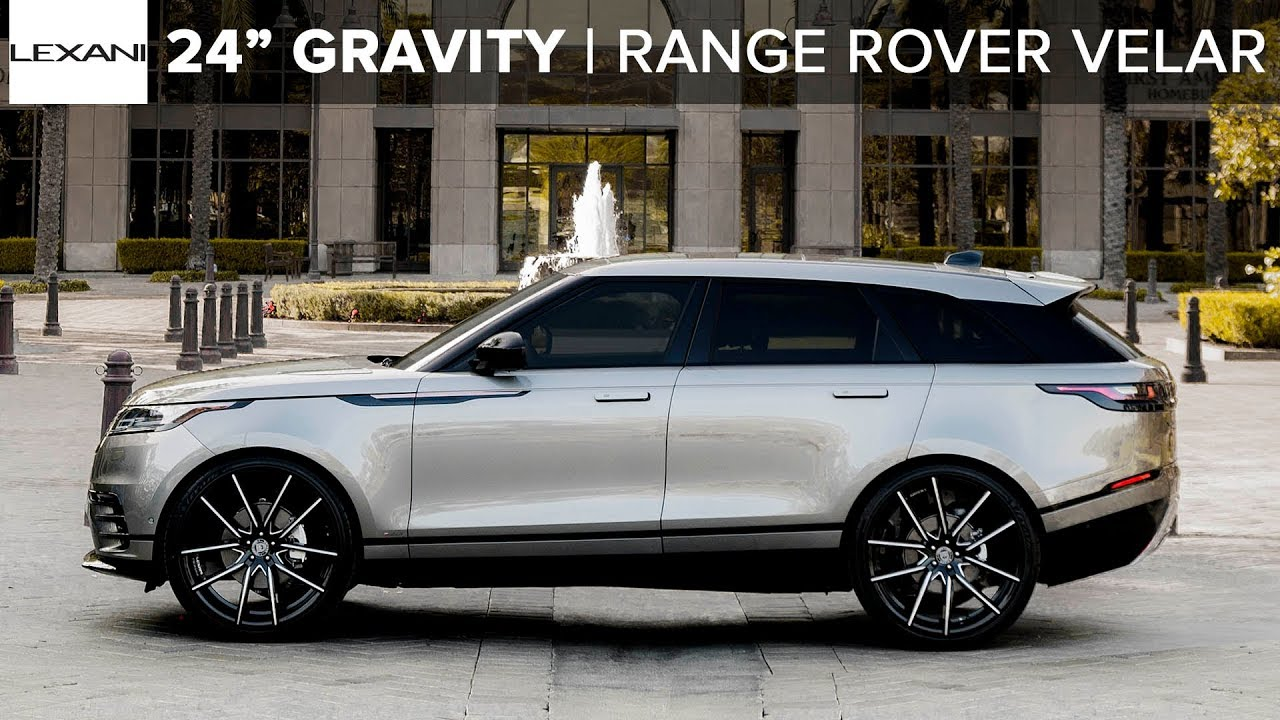 "Range Rover Velar on 24"" Gravity Lexani Wheels And Tires ..."