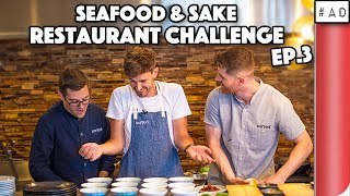BRITISH CHEFS TAKE OVER JAPANESE RESTAURANT... IN TOKYO! (CHALLENGE) EP.3