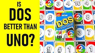 Is DOS Better Than UNO The Card Game? | Review & How To Play