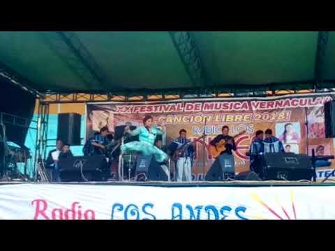 Vilma Sare ganadora.. del tercer puesto , De radio los Andes. 2018.'