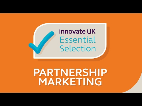 Innovate UK's essential startup & SME business tips for partnership marketing