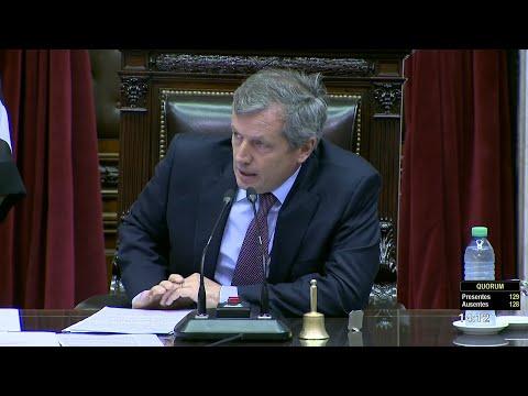 Seguí en vivo la sesión especial en el Congreso de la Nación