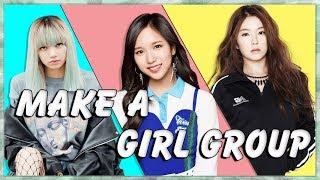 Erstellen Sie Ihre Eigenen 7 die K-Pop Girl Group! (Kpop Spiel)
