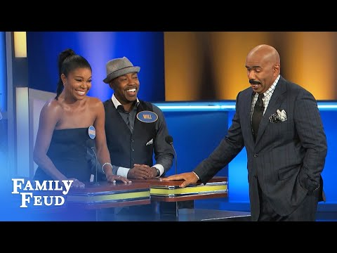 Gabrielle Union stars in Almost Christmas! | Family Feud