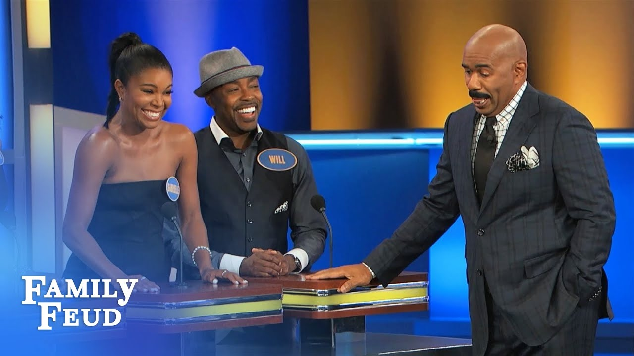 gabrielle union stars in almost christmas family feud you