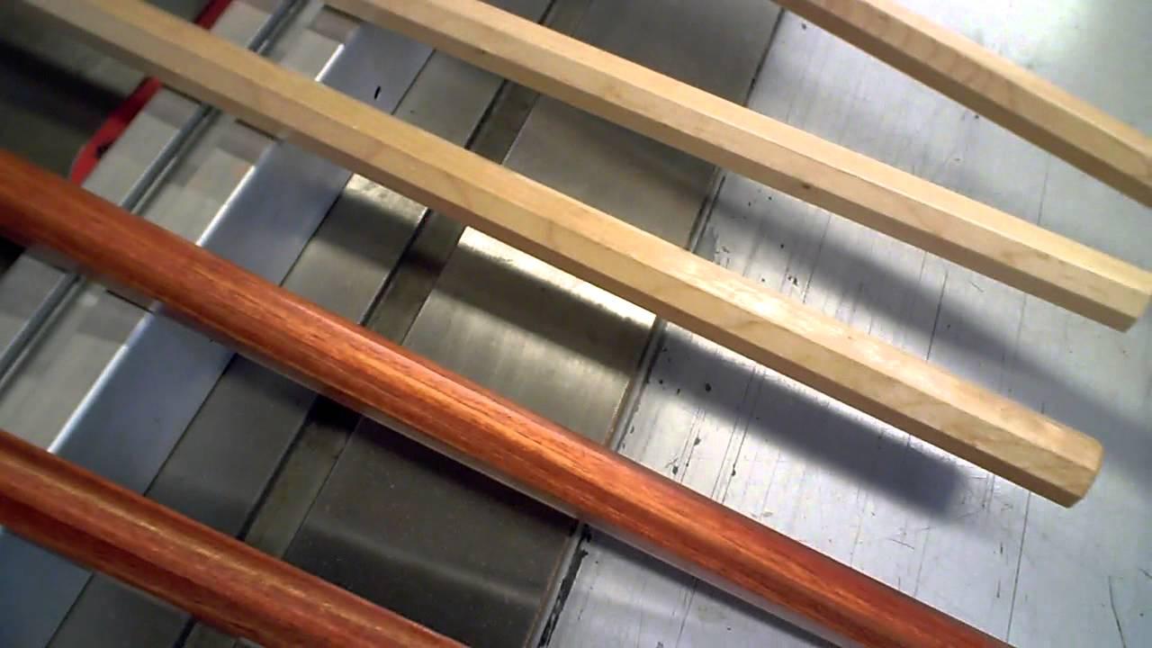 Wax wood staff