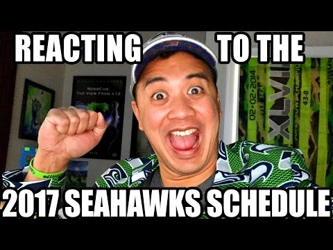 Reacting to the 2017 Seahawks Schedule & LIVE Q&A!