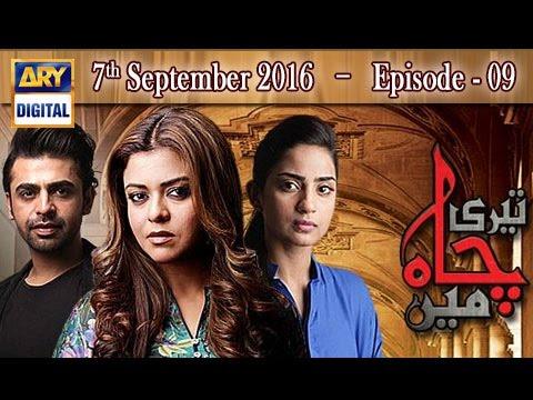 Teri Chah Mein Ep 09 - 7th September 2016 -  ARY Digital Drama
