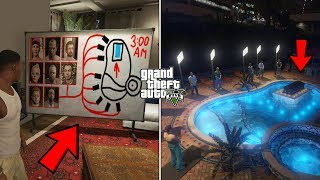 What Michael's Family & Friends Do At Michael's House After His Death in GTA 5? (Scary Pool Ritual)