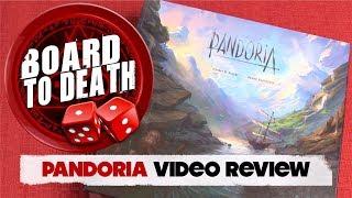 Pandoria Board Game Video Review