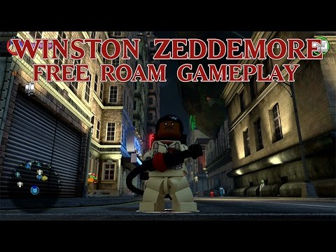 lego dimensions ghostbusters free roaming