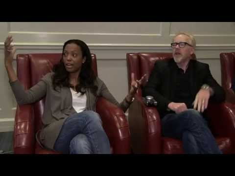 The CT YOUTH Forum's Student-Panelist Roundtable with Aisha Tyler, Adam Savage and Chuck Klosterman