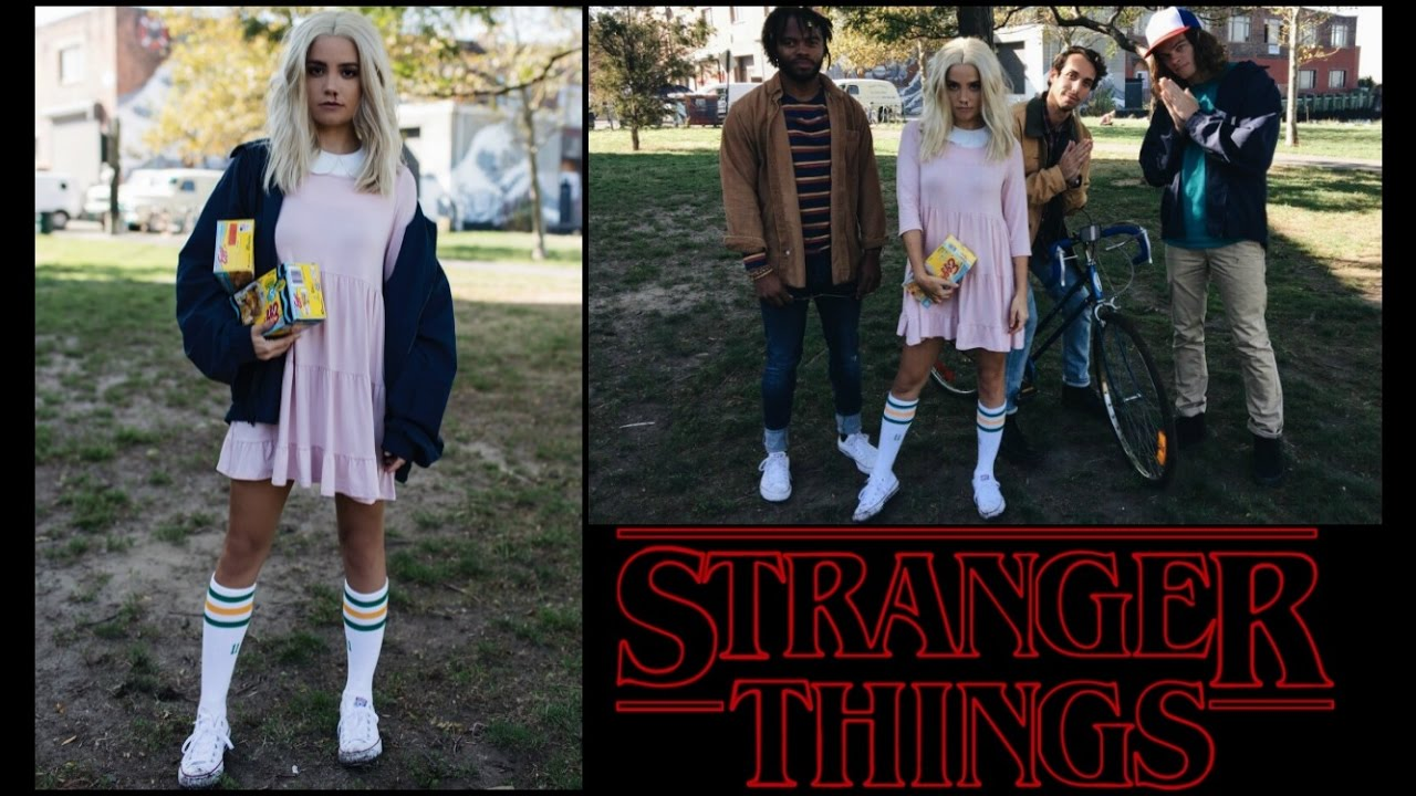 STRANGER THINGS HALLOWEEN COSTUME | SOLO, GROUP + DIY - YouTube