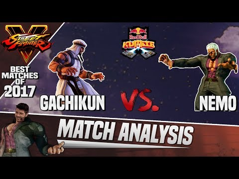 Match Analysis 2017 Rewind: SFV | Red Bull Kumite 2017 - Gachikun vs. Nemo
