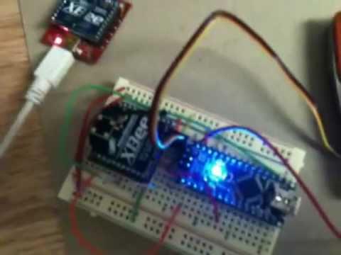Xbee To Arduino Nano Testing Youtube