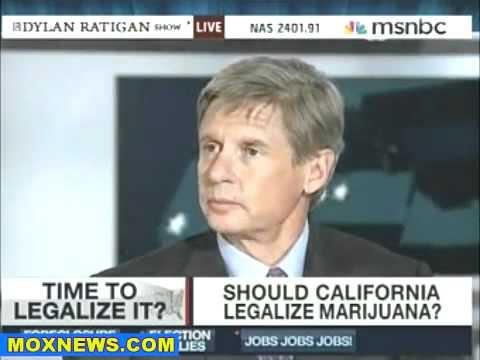 Gary Johnson: Legalize Marijuana