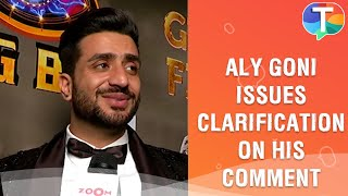 Aly Goni issues clarification on his controversial statement on media in Bigg Boss 14   Exclusive