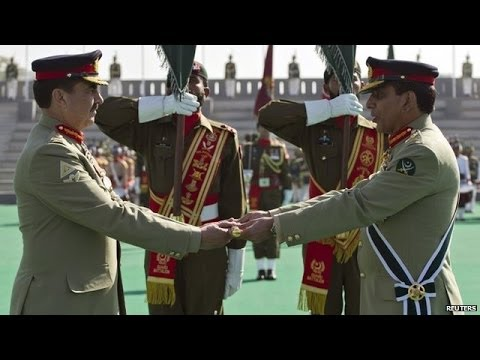 Pakistans New Army Head General Raheel Sharif Welcome Ceremony